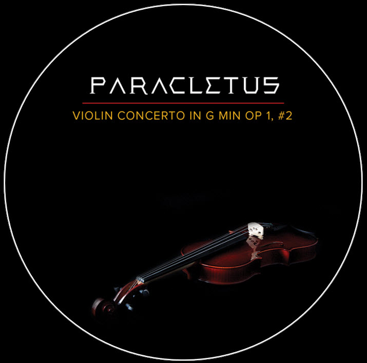 Paracletus - Violin Concerto in G Minor
